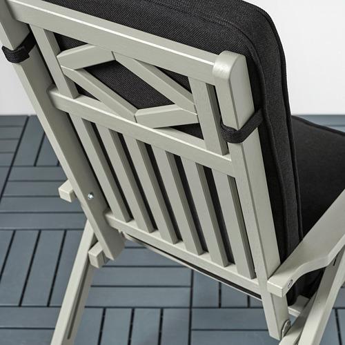 JÄRPÖN/DUVHOLMEN - seat/back cushion, outdoor, anthracite | IKEA Hong Kong and Macau - PE807428_S4