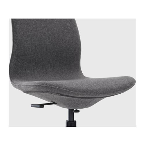 LÅNGFJÄLL - 辦公椅, Gunnared 深灰色/黑色   IKEA 香港及澳門 - PE607418_S4