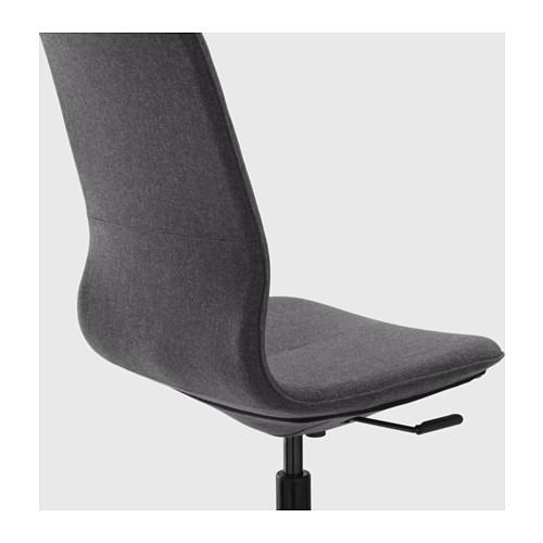 LÅNGFJÄLL - 辦公椅, Gunnared 深灰色/黑色   IKEA 香港及澳門 - PE607413_S4