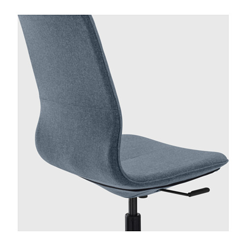 LÅNGFJÄLL - 辦公椅, Gunnared 藍色/黑色   IKEA 香港及澳門 - PE607417_S4