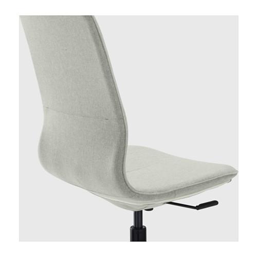 LÅNGFJÄLL - 辦公椅, Gunnared 淺綠色/黑色 | IKEA 香港及澳門 - PE607429_S4