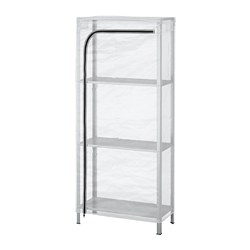 HYLLIS - 層架連遮布, 透明 | IKEA 香港及澳門 - PE712587_S3