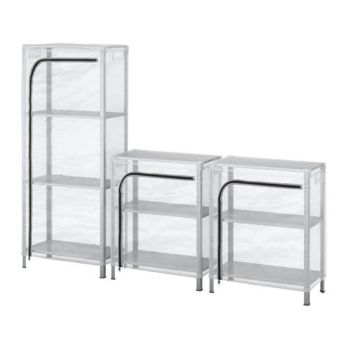 HYLLIS - 層架連遮布, 透明 | IKEA 香港及澳門 - PE712588_S4