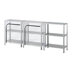HYLLIS - 層架連遮布, 透明 | IKEA 香港及澳門 - PE712590_S3