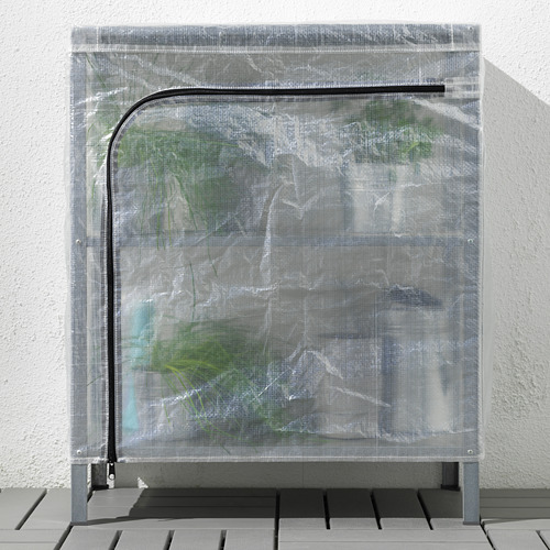HYLLIS - 層架連遮布, 透明 | IKEA 香港及澳門 - PE712593_S4