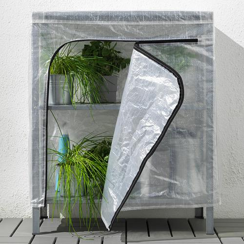 HYLLIS - 層架連遮布, 透明 | IKEA 香港及澳門 - PE712594_S4