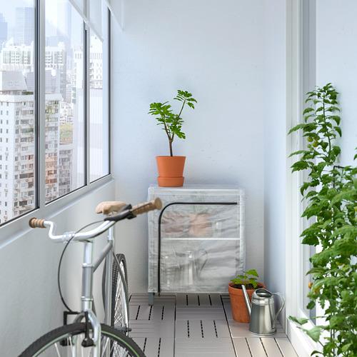 HYLLIS - 層架連遮布, 透明 | IKEA 香港及澳門 - PE712596_S4