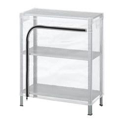 HYLLIS - 層架連遮布, 透明 | IKEA 香港及澳門 - PE712598_S3