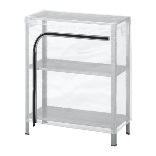 HYLLIS - 層架連遮布, 透明 | IKEA 香港及澳門 - PE712598_S4