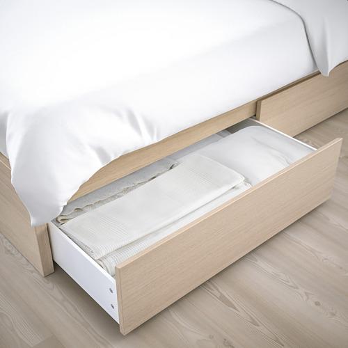 MALM - 特大雙人高身床架連2個貯物箱, Luröy | IKEA 香港及澳門 - PE662099_S4