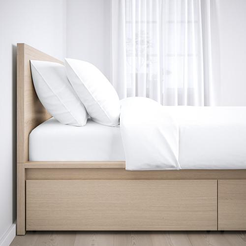 MALM - 特大雙人高身床架連2個貯物箱, Luröy | IKEA 香港及澳門 - PE662100_S4