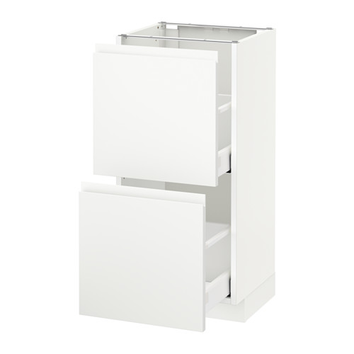 METOD 兩層抽屜地櫃