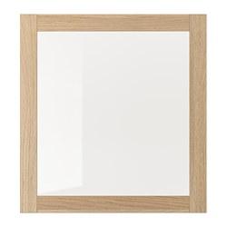 SINDVIK - 玻璃門, 染白橡木紋/透明玻璃 | IKEA 香港及澳門 - PE711504_S3