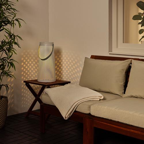 SOLVINDEN - 太陽能LED座地燈, 圓錐形 白色 | IKEA 香港及澳門 - PE807579_S4