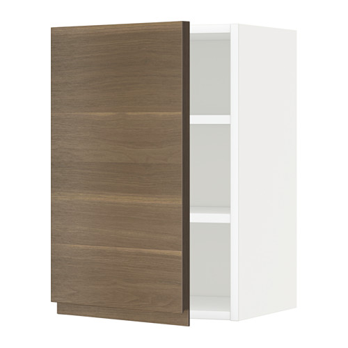METOD - 吊櫃連層板, white/Voxtorp walnut effect | IKEA 香港及澳門 - PE545077_S4
