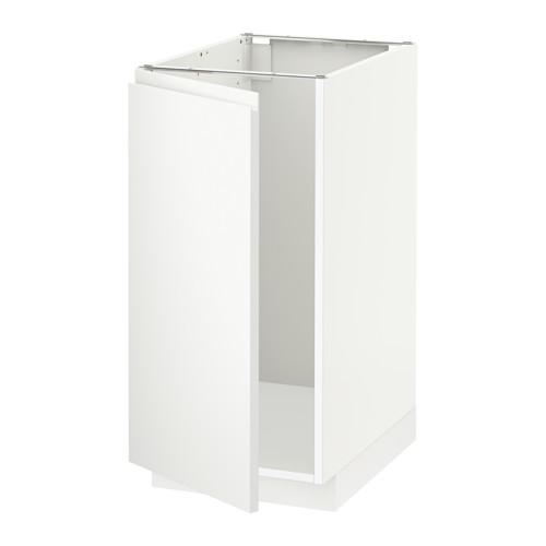 METOD - base cab f sink/waste sorting, white/Voxtorp matt white | IKEA Hong Kong and Macau - PE545102_S4