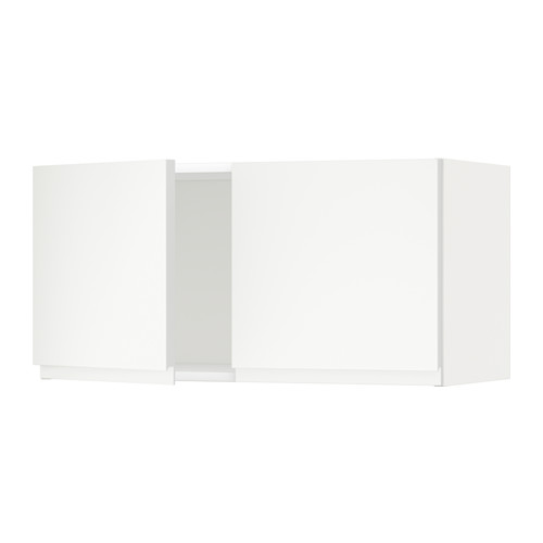 METOD - 雙門吊櫃, 白色/Voxtorp 啞白色 | IKEA 香港及澳門 - PE545161_S4