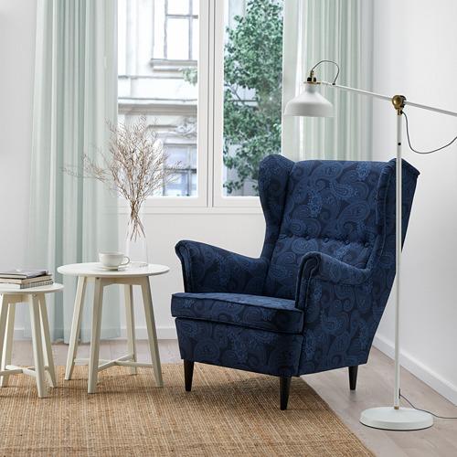 STRANDMON - 扶手椅, Kvillsfors 深藍色/藍色 | IKEA 香港及澳門 - PE807716_S4
