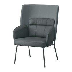 BINGSTA - 高背扶手椅, Vissle 深灰色/Kabusa 深灰色 | IKEA 香港及澳門 - PE751417_S3