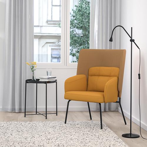 BINGSTA - high-back armchair, Vissle dark yellow/Kabusa dark yellow | IKEA Hong Kong and Macau - PE751423_S4