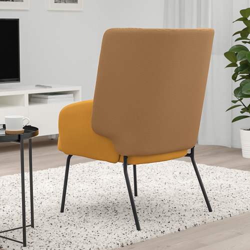 BINGSTA - high-back armchair, Vissle dark yellow/Kabusa dark yellow | IKEA Hong Kong and Macau - PE751424_S4