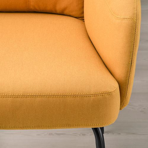 BINGSTA - high-back armchair, Vissle dark yellow/Kabusa dark yellow | IKEA Hong Kong and Macau - PE751426_S4