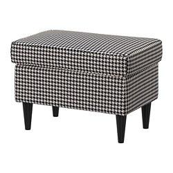 STRANDMON - 腳凳, Vibberbo 黑色/米黃色 | IKEA 香港及澳門 - PE751432_S3