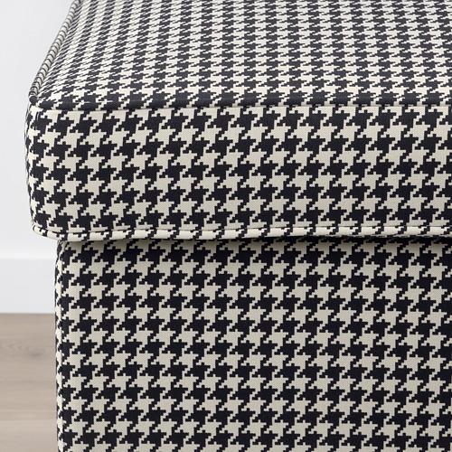 STRANDMON - 腳凳, Vibberbo 黑色/米黃色 | IKEA 香港及澳門 - PE751433_S4