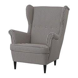 STRANDMON - wing chair, Vibberbo black/beige | IKEA Hong Kong and Macau - PE751434_S3