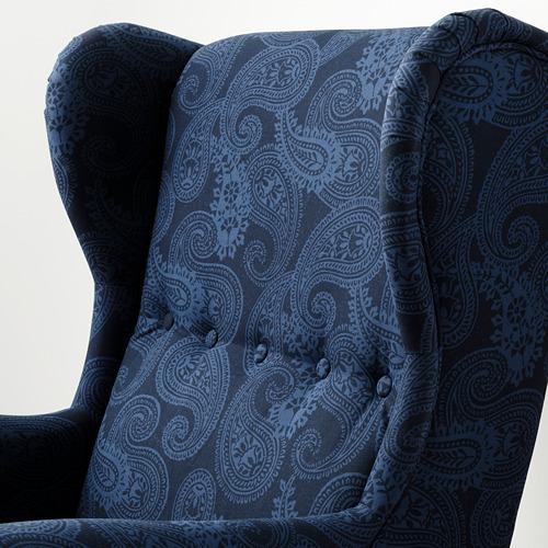 STRANDMON - 扶手椅, Kvillsfors 深藍色/藍色 | IKEA 香港及澳門 - PE807718_S4