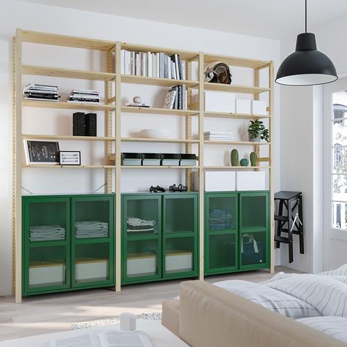 IVAR - 貯物組合, 松木/綠色 網狀 | IKEA 香港及澳門 - PE807739_S4
