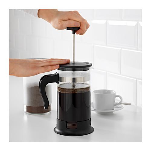 UPPHETTA - 咖啡/茶沖調器, 玻璃/不銹鋼 | IKEA 香港及澳門 - PE607788_S4