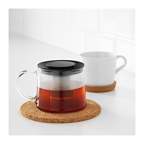 RIKLIG - teapot, glass | IKEA Hong Kong and Macau - PE607789_S4