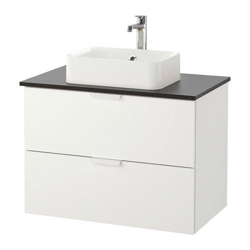 GODMORGON/TOLKEN/HÖRVIK 洗手盆櫃連櫃台板組合