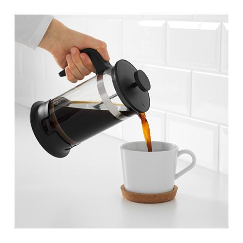 UPPHETTA - 咖啡/茶沖調器, 玻璃/不銹鋼 | IKEA 香港及澳門 - PE607827_S4