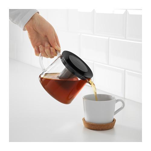 RIKLIG - teapot, glass | IKEA Hong Kong and Macau - PE607830_S4