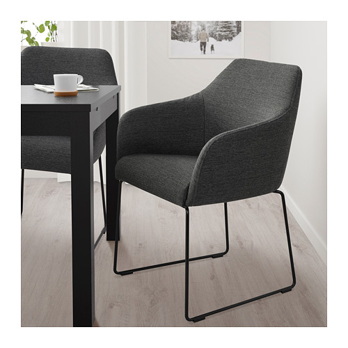 TOSSBERG - chair, metal black/grey   IKEA Hong Kong and Macau - PE712123_S4