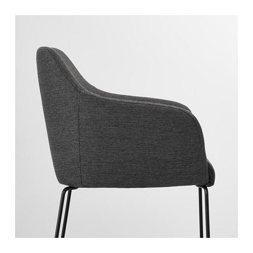 TOSSBERG - chair, metal black/grey   IKEA Hong Kong and Macau - PE712126_S4