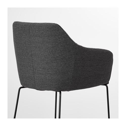TOSSBERG - chair, metal black/grey   IKEA Hong Kong and Macau - PE712125_S4