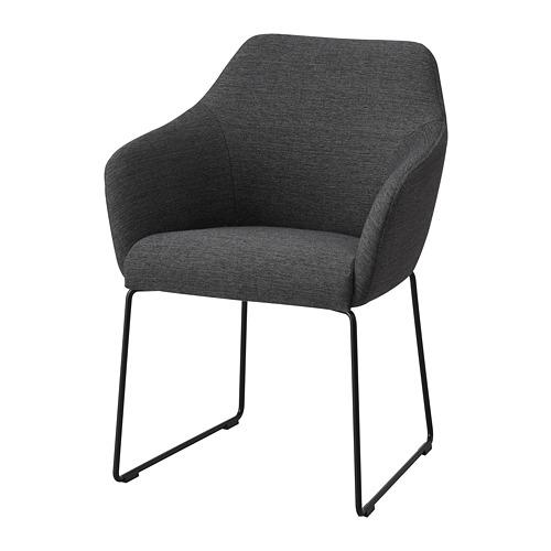 TOSSBERG - chair, metal black/grey   IKEA Hong Kong and Macau - PE712124_S4