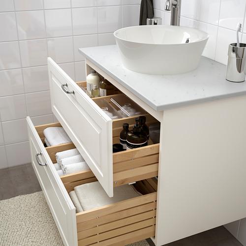 KATTEVIK/GODMORGON/TOLKEN wsh-stnd w countertop 40 wash-basin