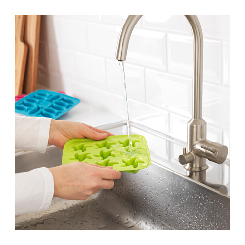 PLASTIS - 製冰格, 綠色/粉紅色/湖水綠色   IKEA 香港及澳門 - PE607885_S4
