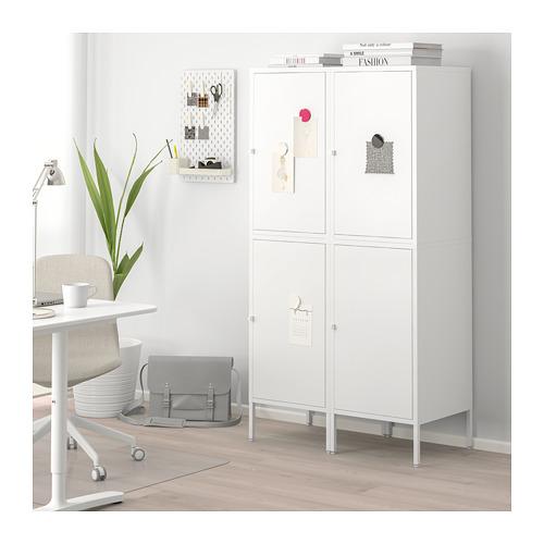 HÄLLAN - 貯物組合連門, 白色 | IKEA 香港及澳門 - PE664018_S4