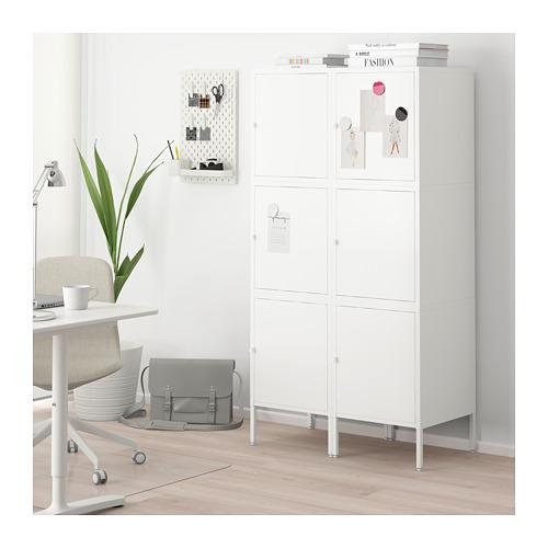 HÄLLAN - 貯物組合連門, 白色 | IKEA 香港及澳門 - PE664021_S4