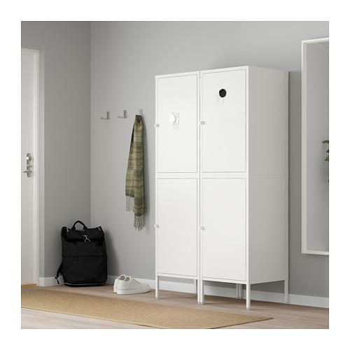 HÄLLAN - 貯物組合連門, 白色 | IKEA 香港及澳門 - PE664022_S4