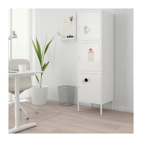 HÄLLAN - storage combination with doors, white | IKEA Hong Kong and Macau - PE664024_S4