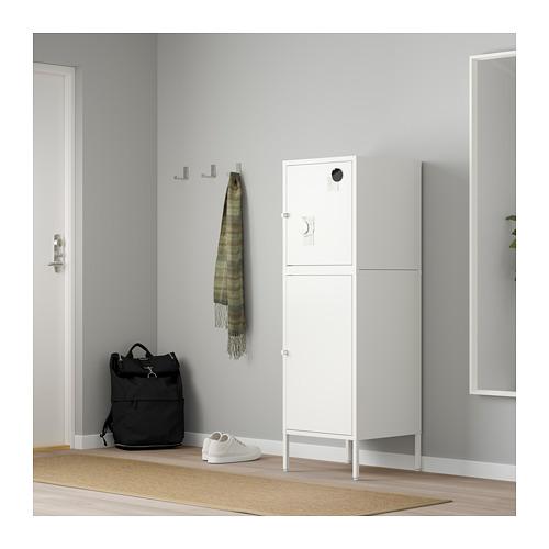 HÄLLAN - 貯物組合連門, 白色   IKEA 香港及澳門 - PE664025_S4