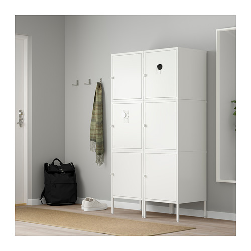 HÄLLAN - 貯物組合連門, 白色 | IKEA 香港及澳門 - PE664023_S4