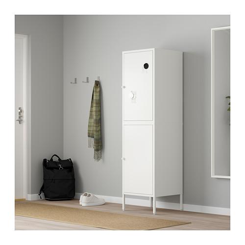 HÄLLAN - 貯物組合連門, 白色 | IKEA 香港及澳門 - PE664027_S4