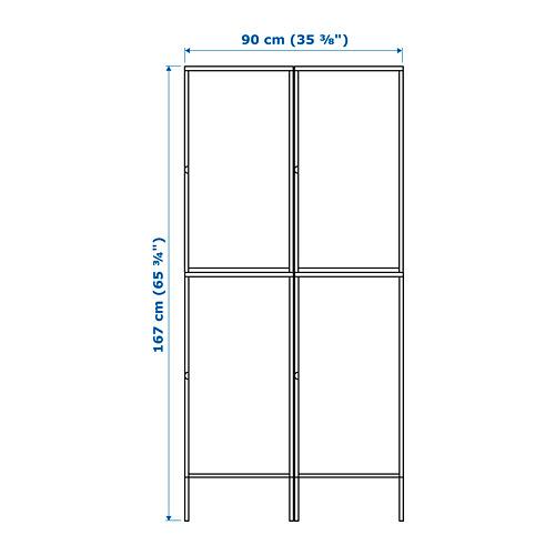 HÄLLAN - 貯物組合連門, 白色 | IKEA 香港及澳門 - PE664010_S4